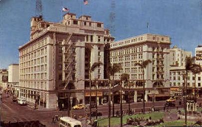 The U.S. Grant Hotel - San Diego, California CA Postcard