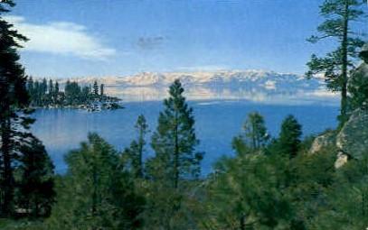 Lake Tahoe - MIsc, California CA Postcard