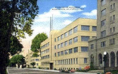 State Office Building - Sacramento, California CA Postcard