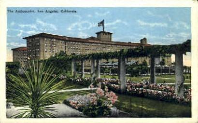 The Ambassador - Los Angeles, California CA Postcard