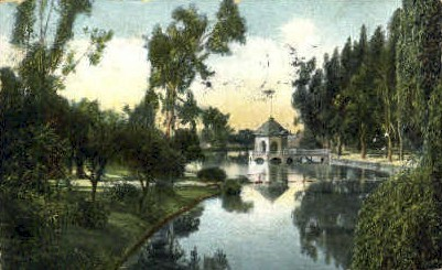 East Park - Los Angeles, California CA Postcard