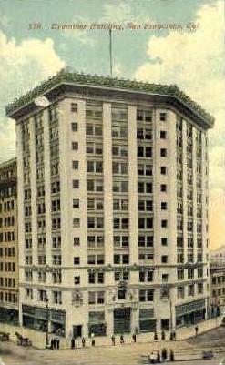 Examiner Building - San Francisco, California CA Postcard