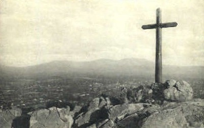Serra Cross - Riverside, California CA Postcard