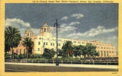 U.S. Post Office - Los Angeles, California CA Postcard