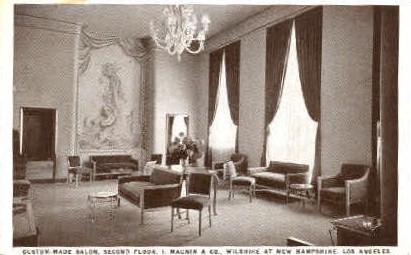 Second Floor, I. Magnin & Co.  - Los Angeles, California CA Postcard