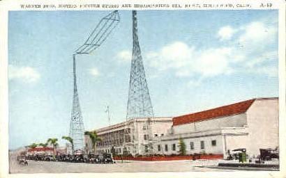 Warner Bros. Motion Picture Studio  - Hollywood, California CA Postcard