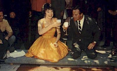Jack Lemmon and Shirley MacLaine - MIsc, California CA Postcard