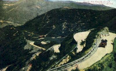 Double Bow Knot Blvd. - Hollywood, California CA Postcard