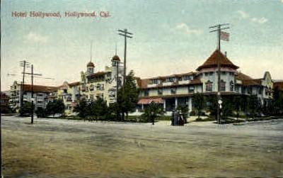 Motel Hollywood - California CA Postcard