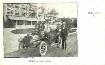 Hotel at Hollywood - California CA Postcard