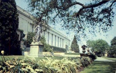 Huntington Library and Museum - Pasadena, California CA Postcard