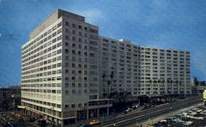 Statler Hotel - Los Angeles, California CA Postcard