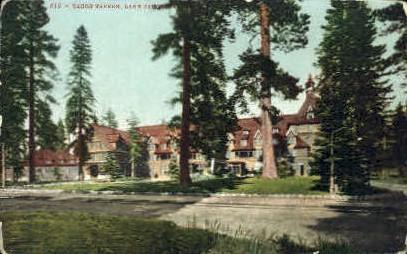 Tahoe Tavern - Lake Tahoe, California CA Postcard