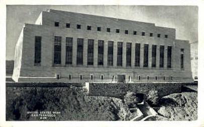 U.S. Mint - San Francisco, California CA Postcard