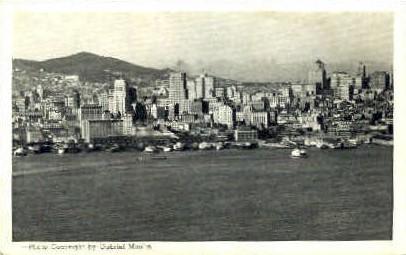 Skyline  - San Francisco, California CA Postcard