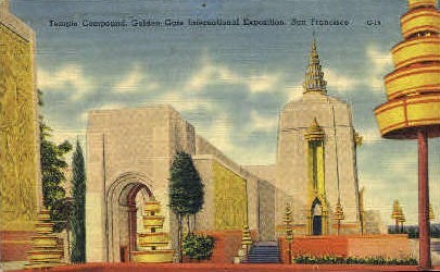 Golden Gate International Exposition - San Francisco, California CA Postcard