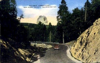 Palomar Observatory - San Diego, California CA Postcard
