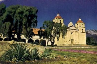 Santa Barbara, California, CA Postcard