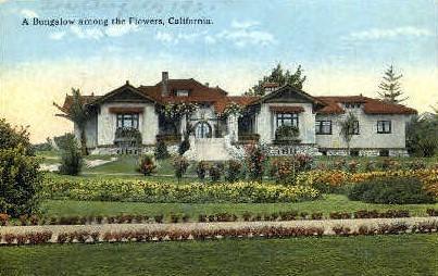 A Bungalow  - MIsc, California CA Postcard