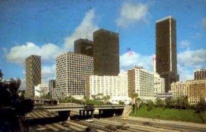Hilton - Los Angeles, California CA Postcard