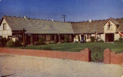 Solvang Gaard Motor Hotel - California CA Postcard