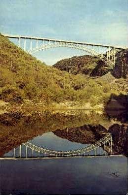 Burro Creek - MIsc, California CA Postcard