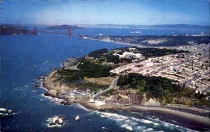 Golden Gate Bridge - San Francisco, California CA Postcard