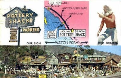 Laguna Beach, California, CA Postcard