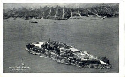 Alcatraz Island - San Francisco, California CA Postcard