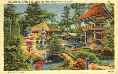Golden Gate Park - San Francisco, California CA Postcard