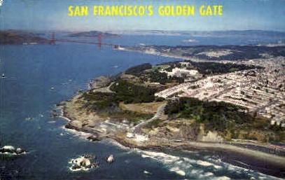 Golden Gate - San Francisco, California CA Postcard