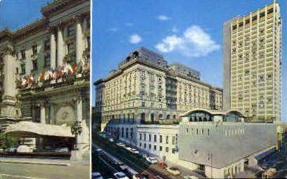 Fairmont Hotel - San Francisco, California CA Postcard