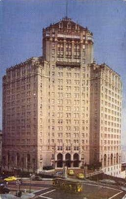 The Mark Hopkins Hotel - San Francisco, California CA Postcard