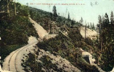 S.P.R.R., Railroad - MIsc, California CA Postcard
