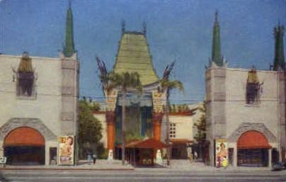 Grauman's Chinese Theater - Hollywood, California CA Postcard
