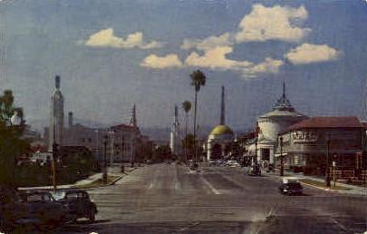 Westwood Village, UCLA - Los Angeles, California CA Postcard