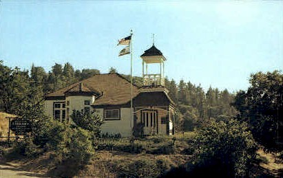San Diego County Library - California CA Postcard