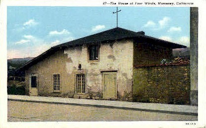 The House of Four Winds - Monterey, California CA Postcard