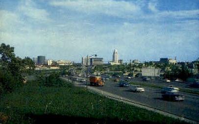 Los Angeles, California, CA Postcard