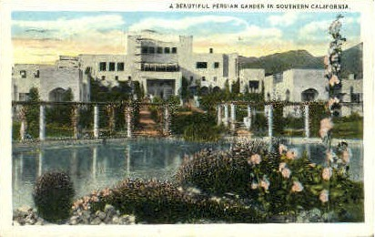Southern California - MIsc Postcard