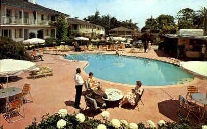 Casa Munras Garden Hotel - Monterey, California CA Postcard