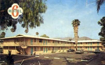 Motel 6 - Riverside, California CA Postcard