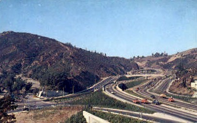Hollywood, California, CA Postcard