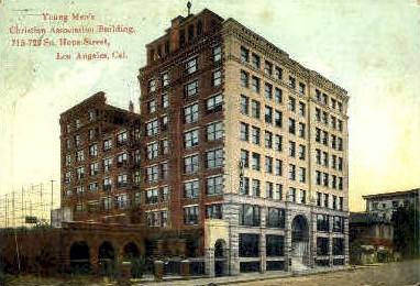 Y.M.C.A. - Los Angeles, California CA Postcard