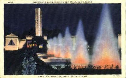 America's Exposition - San Diego, California CA Postcard