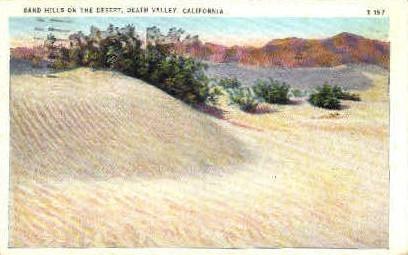 Death Valley , California, CA Postcard