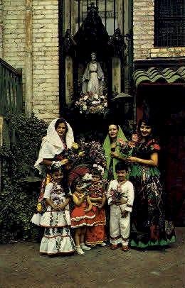 Our Lady of La Purisima Shrine - Los Angeles, California CA Postcard