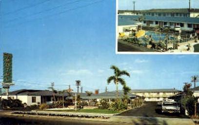 Capri Motel - Los Angeles, California CA Postcard