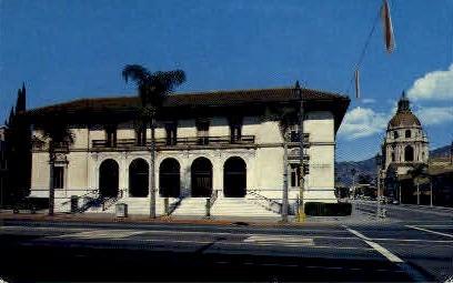 Post Office - Pasadena, California CA Postcard