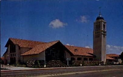 St. Charles Borromeo Church - San Diego, California CA Postcard